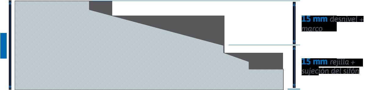 Platos 3 cm + marco